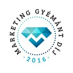 """Marketing Gyémánt"" díj 2016"